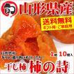 【日時指定OK】山形県産 干し柿 柿の詩 1箱(10〜12個入)