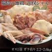 肉 福島県 ギフト 川俣シャモ バラシ 1羽 オス (内臓付き・ガラ付き)  2.3kg以上 冷蔵
