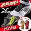 安全靴  ミズノ安全靴 作業靴 送料無料 手袋プレゼント ポイント10倍 ミズノ MIZUNO C1GA1602 プロテクティブスニーカー