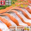 アトランサーモン 切身 3kg 無塩 骨なし 切り身 さけ 鮭 きりみ 加熱用 お徳用 業務用 送料無料 魚真