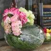 ガラスベース 花瓶 花器 フラワーベース 花 枝 水槽 円形 ボール型 丸