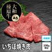 牛肉 黒毛和牛 大和榛原牛 ( A5等級 ) イチボ焼肉・炙り用 100g単位!
