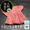 牛肉 黒毛和牛 大和榛原牛 ( A5等級 ) 稀少部位 とろイチボ 焼肉・炙り用 100g単位!