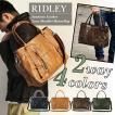 ボストンバッグ メンズ PUレザー TRICKSTER(トリックスター) RIDLEY 人気 通学 旅行バッグ アウトドア 大きめ 旅行 男性用 かばん