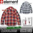 【SALE】ELEMENTエレメントメンズ/AE022-105/裏キルト/ヘビーネルシャツ スケボー
