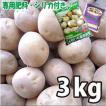 お買い得♪野菜・種/苗[春じゃがいも種芋]北海道産 キタアカリ きたあかり  じゃがいも種芋・生もの種 量り売り3kg+じゃがいも専用肥料+シリカ付きセット