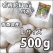 お買い得♪野菜・種/苗 ニンニク にんにく 種子 国産 青森県産 福地ホワイト Lサイズ 500g+肥料1kg付き