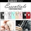 URBAN DESIGN Bunker Ring Essentials Multi Holder Pack 落下防止 リング スマホ タブレット