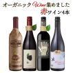 ワイン ワインセット オーガニックのお酒集めました ビオワイン赤 バラエティ5本セット 辛口 赤ワイン 送料無料 ことりっぷ