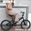 自転車 BMX 街乗り 20インチ 送料無料 アルミペグ ジャイロハンドル ENCOUNTER エンカウンター BM-20E