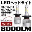 送料無料次世代純白光炸裂 『ブラックナイト2』 LEDヘッドライト 8000LM美白光 H4 Hi/Lo LEDフォグランプ H1 H3 H7 H8 H11 H16 HB3 HB4 選択可能 1年保証