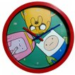 アドベンチャータイム Adventure Time ウォールクロック (フィン・ジェイク・プリンセスバブルガム) 掛け時計 時計 ジェイク フィン グッズ かわいい インテリア