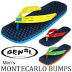 SENSI センシサンダル モンテカルロ バンプス  ビーチサンダル ビーサン MONTECARLO BUMPS ATLETIC/ROSSO/VERDE/GIALLO