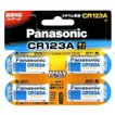 リチウム電池 3v CR123A カメラ用 4個入 パナソニック