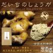 だいちのしょうが 70g 鹿児島県産100%黄金生姜粉末・生姜湯・しょうが紅茶・しょうが ・ジンジャーパウダー ・メール便送料無料