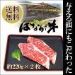 愛媛県 ゆうぼくの里 はなが牛 サーロインステーキ 約220g 2枚セット お取り寄せ お土産 ギフト プレゼント 特産品 名物商品 バレンタイン