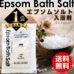 入浴剤 エプソム バスソルト 30g お試し 送料無料 ポイント消化