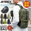 AVIREX アビレックス アヴィレックス EAGLE ボディバッグ ワンショルダーバッグ AVX305  6139111 【クーポン対象外】