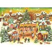 アドベントカレンダー クリスマスの遊園地