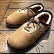 サンダルマン THE SANDALMAN / シープスキンシューズ sheepskin shoes (BEIGE)