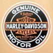 ガレージステッカー/シール ハーレーダビッドソン Harley-Davidson(ラウンド) GS-019
