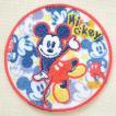ワッペン ディズニー ミッキーマウス(ラウンド) MY5501-MY326