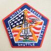 ロゴワッペン NASA ナサ(STS-104) 名前 作り方 NFC-001-104