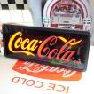 コカコーラ Coca-Cola 看板/LEDスウィープサイン PJ-LED01 *送料無料 *代引不可