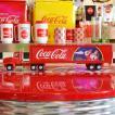 コカコーラ Coca-Cola ミニカー クリスマストレーラー&コンテナ(1/43) *メール便不可