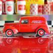 コカコーラ Coca-Cola ミニカー 1940年 フォード デリバリー(1/18) *メール便不可