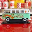 コカコーラ Coca-Cola ミニカー 1962年 フォルクスワーゲン バス(1/18) *メール便不可