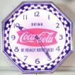 コカコーラ Coca-Cola 壁掛け時計/レトロネオンクロック PJC-R02 *送料無料 *代引不可