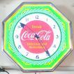コカコーラ Coca-Cola 壁掛け時計/レトロネオンクロック PJC-R03 *送料無料 *代引不可