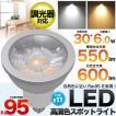 口金E11 6W高演色性LEDスポットライト調光器対応 店舗照明に最適な自然色に近いRa>95
