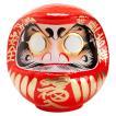 高崎だるま 縁起だるま 10号(高さ30cm)赤 群馬県指定ふるさと伝統工芸品 Takasaki daruma engi daruma Gunmaken traditional crafts