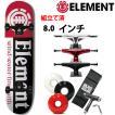 スケボー コンプリート 初心者 ELEMENT エレメント SECTION 7.5x31.5インチ(スケートボード コンプリート)(スケートボード)(スケボー)
