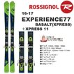 ROSSIGNOL ロシニョール スキー 16-17 EXPERIENCE77 BASALT+XPRESS11(GRN)