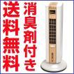 花粉対策 バイオエアクリーンファン 1台5役 空気清浄機 空気清浄器 スリムタワー型 バイオイオナース1g×4包付 ウッド TEP-BF160WD
