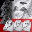 ワイシャツ・長袖・メンズ・Yシャツ・ワイシャツ3点セット 3枚セット