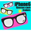 (サマーセール)iPhone6s/iPhone6(4.7インチ)用メガネデザインケース