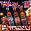 送料無料 イギリスビール12本セット
