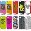 キース・ヘリング iPhone5s/5(アイフォン5s)用 イヤフォン付き ケース 『Keith Haring Collection Bezel Case for iPhone 5/5S with Earphones』 スマホ