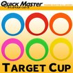 【あすつく対応】【メール便可】 クイックマスター TARGET CUP ターゲットカップ パター練習器具 QMMGNT23