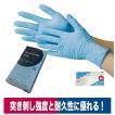 使い捨て手袋 ニトリル極薄手袋 50枚入り 食品加工 清掃 介護 粉なし S/M/L 川西工業 2040