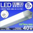 直管 LED 蛍光灯 40W型 器具一体型 LED ライト 120cm 10本セット