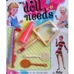 """ビンテージ My 人形 Needs - Sports Equipment アクセサリー for Barbie(バービー) & 11.5"""" ファッショ"""