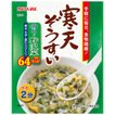 かんてんぱぱ 寒天ぞうすい のり野沢菜 1食