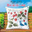 オノエ・メグミ 刺繍キットシリーズ 花咲く庭の小さな物語 ワイルドストロベリー