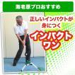 上達できるゴルフ練習機ならインパクトワン