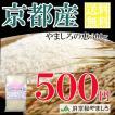 ポイント消化 送料無料 米 京都産 特別栽培米 やましろの恵 お試しパック300g(郵送)